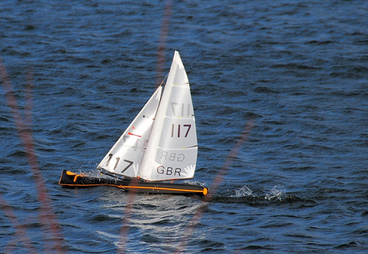Roger's UP in C3 at speed to windward